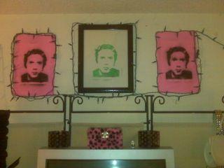 Johnny Rotten Stencils